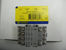 Square D Relay Socket 8501-NR34