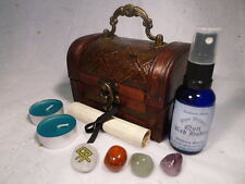 BREAK BAD HABITS RITUAL CHEST spell kit wicca wiccan pagan magic quit smoking