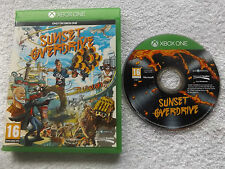SUNSET OVERDRIVE XBOX ONE V.G.C. FAST POST ( FPS shooter game )