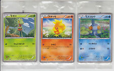 Pokemon Card XY Promo Treecko Torchic Mudkip Set 107-109/XY-P Japanese