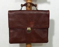 Leder Schultasche Aktentasche von Leonhard Heyden Glattleder Vintage O597