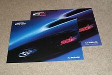 Subaru Impreza WRX STI Brochure 2005 With UK Specifications
