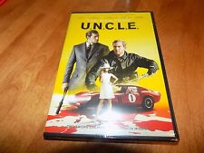 THE MAN FROM U.N.C.L.E. Henry Cavill Arnie Hammer Hugh Grant Spy Spies DVD NEW