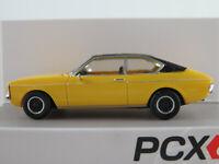 PCX87 870018 Ford Granada MK I Coupé (1975) in gelb/mattschw. 1:87/H0 NEU/OVP