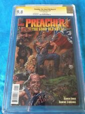 Preacher: The Good Old Boys #1 - DC- CGC SS 9.8 NM/MT - Signed by Garth Ennis
