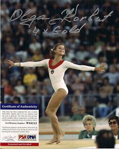 Olga Korbut Signed 8x10 Photo-PSA/DNA COA-1972 Olympics-Gymnastics Gold