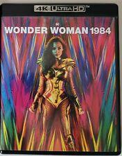 WONDER WOMAN 1984 4K ULTRA HD BLU RAY 2 DISC SET FREE WORLDWIDE SHIPPING