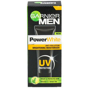 5 PACK GARNIER MEN POWER WHITE ANTI-POLLUTION CREAM FREE SHIPPING