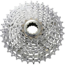 Shimano Deore XT CS-M770 XT Bicycle Cycle Bike 9 Speed Cassette Silver