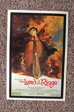 The Lord of the Rings Lobby Card Movie Poster
