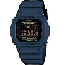 CASIO THOUGH SOLAR DIGITAL G-SHOCK WORLD TIME ALARM MEN'S WATCH G-5600NV-2DR NEW