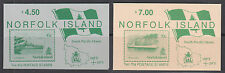 Norfolk Island Sc 481, 484 Intact Booklets, 1990 issues, 2 different, VF