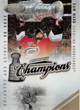 2010-11 Certified Champions Mirror Gold #15 Cam Ward Hurricanes 04/25