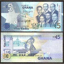GHANA  5 Cedis 2014 UNC P 38 e