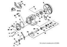 2340 Model Ingersoll Rand compatible Crank Case Frame Compressor 30222327