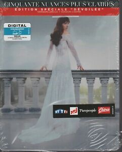 Cinquante 50 Nuances Plus Claires Blu Ray Dvd Digital Steelbook Neuf Ed Devoilée