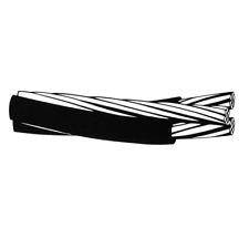 PER FOOT 1/0-1/0-1/0 Neritina Aluminum Triplex Overhead Service Drop Cable Wire