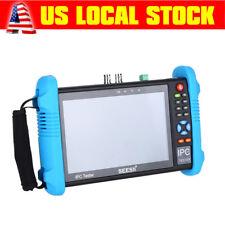 SEESII 7'' 4K 1080P IPC Camera CCTV Tester Monitor CVBS PoE Test H.265 8GB WIFI