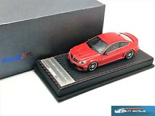 53181 Welly mercedes-benz c63 amg coupé black series maqueta de coche blanco 1:40 nuevo