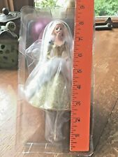Holiday Stocking Hanger by Hallmark, Barbie in Gold+White Gown, 1994,New in Box