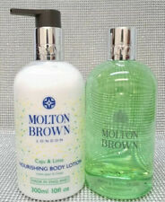 Molton Brown Eucalyptus Bath & Shower Gel + Caju & Lime Body Lotion Set 2x 300ml
