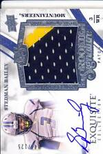stedman bailey rookie draft auto jersey patch west virginia wvu 3C college #/125