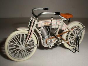 Harley Davidson 1907  the 1st one 1/24 Franklin Mint Motorbike 1:24 RARE Model !