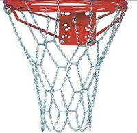 Basketball chain net zinc plated steel 12 gauge chain Maximum durabity.
