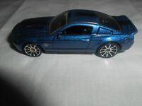 """HOTWHEELS '10 FORD SHELBY GT500 C35"" DIE CAST CAR ~ 2008 ~ BLUE COBRA MUSTANG"