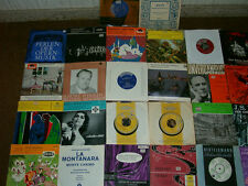 Paket 38 Stück Vinyl Single 45, Klassik, Operette Mozart, Bach, ( Vinyl Top ! )