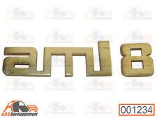 MONOGRAMME pour coffre / malle (TRUNK) arrière de Citroen AMI8  -1234-
