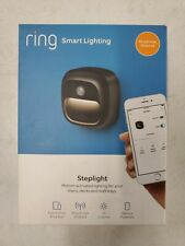 Ring Smart Lighting Weather-Resistant Motion-Activated Steplight, Black