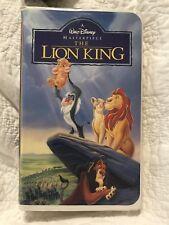 Disney The Lion King Movie VHS Tape