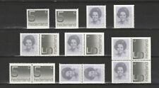 Nederland Stockkaart Combinaties uit Postzegelboekjes 27 Postfris
