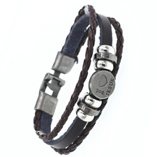 2019 Multilayer Bracelet WOMEN/MEN Casual Fashion Braided Leather Punk Rock 130