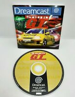 Sega GT Sega Dreamcast Game With Manual - Disc In VGC