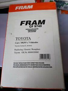Cabin Pollen Filter CF9740 Fits Toyota Carina E Avensis Picnic