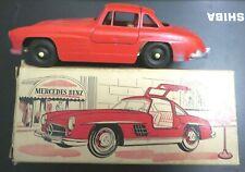 "Vintage Tootsietoy #995 7"" Red Mercedes Benz 300 SL Original Box Nice Condition"
