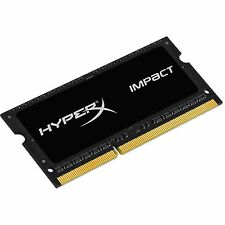 Kingston Hyperx impacto 8 Gb (1x 8gb) Módulo De Memoria 1600mhz Ddr3l Cl9 Sodimm 204pin