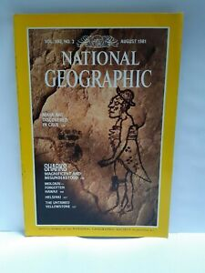 National Geographic magazine August 1981