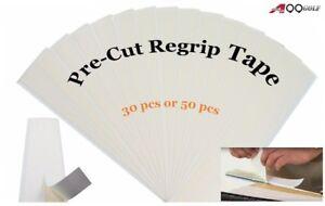 A99 Golf Pre-Cut Regrip Tape Regripping Golf Clubs Gripping Adhesive 30pcs/50pcs