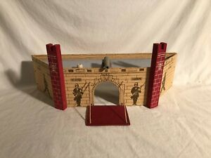 Large Vintage Rich Toys Playset Fortress Wooden Toy Set
