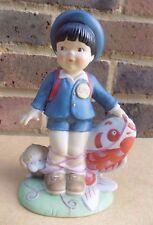 Franklin Comme neuf porcelaine ONU enfants figurine-Taro du Japon