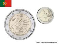 2 Euros Commémorative Portugal 2017 PSP UNC