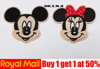 Mickey Mouse Girl Disney Minnie Iron on Sew On Patch Badge