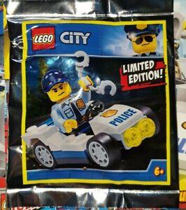 Lego City Figuren Zubehör Polizei mit Auto, Polizist