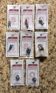 Arttista Accessories S Scale Figure Lot Set of 8 726 734 745 747 750 768 781