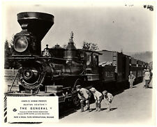 The General Original Lobby Card Buster Keaton Classic Comedy Vintage Steam Train