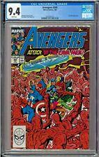 Avengers #305 CGC 9.4 White Lava Men John Byrne Art