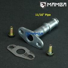 MAMBA Turbo Oil Return Drain Pipe Kit MHI DSM 4G63T 1G 2G EVO 3 4 5 6 7 8 9 10